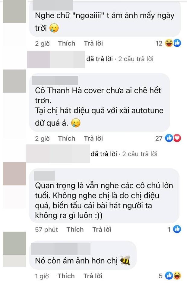Thanh Thảo dỗi hờn khi bị chê cover hit Hiền Hồ, netizen đáp trả:  Hát không hay lại đổ thừa khán giả, còn so sánh với Trần Đức Bo? - Ảnh 5.