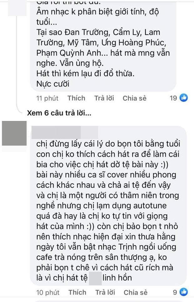 Thanh Thảo dỗi hờn khi bị chê cover hit Hiền Hồ, netizen đáp trả:  Hát không hay lại đổ thừa khán giả, còn so sánh với Trần Đức Bo? - Ảnh 8.