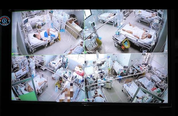 Clip: Theo chân một ca trực đêm của y bác sĩ BV Chợ Rẫy trong khu điều trị bệnh nhân Covid-19 - Ảnh 1.