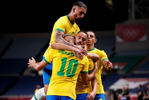 Hủy diệt Mexico trên chấm luân lưu cân não, Brazil vào chung kết Olympic 2020 - Ảnh 22.