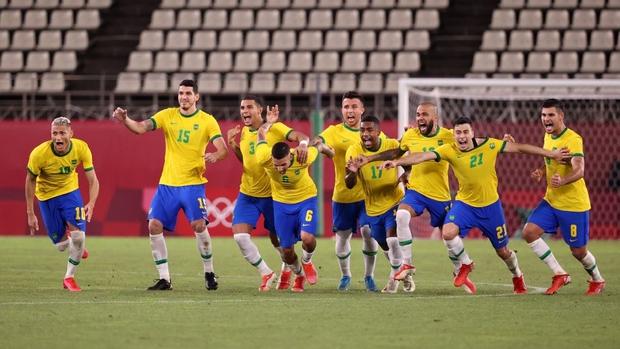 Hủy diệt Mexico trên chấm luân lưu cân não, Brazil vào chung kết Olympic 2020 - Ảnh 3.