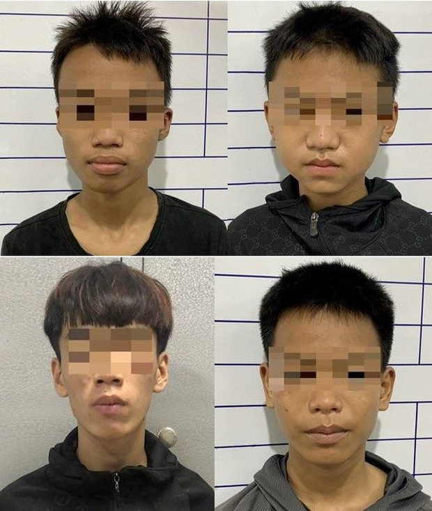 """Nhóm thiếu niên """"mặt búng ra sữa"""" trộm hơn 20 xe máy ở Đà Nẵng - Ảnh 1."""