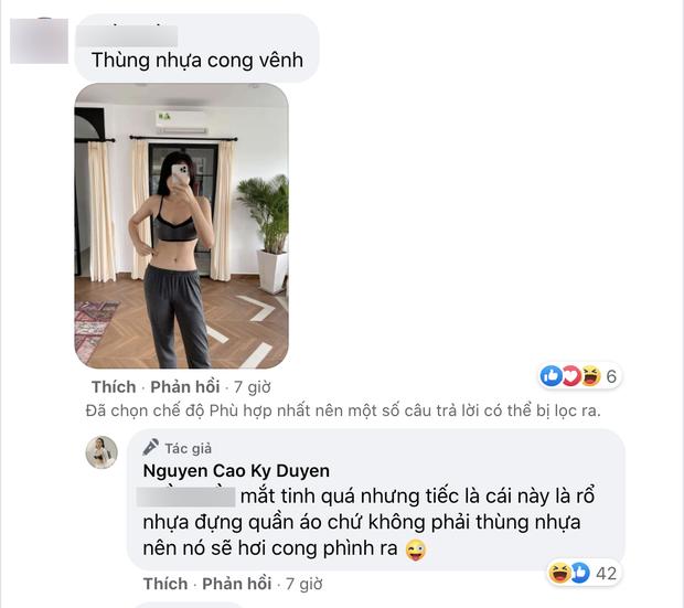 Bị netizen soi photoshop méo cả đồ vật khi khoe eo thon, Kỳ Duyên lên tiếng giải thích nhưng liệu có hợp lý? - Ảnh 5.