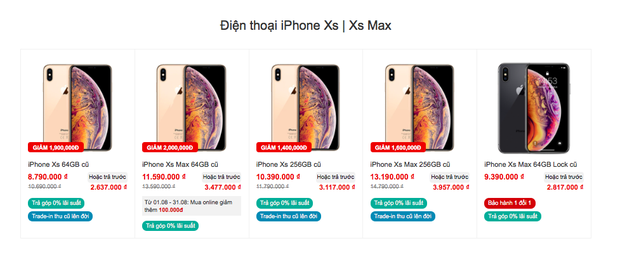 Tạm quên iPhone 12 đi, các dòng iPhone đời cũ đang giảm giá cực mạnh - Ảnh 2.