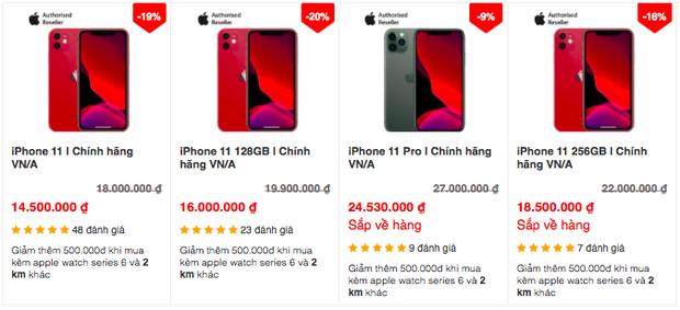 Tạm quên iPhone 12 đi, các dòng iPhone đời cũ đang giảm giá cực mạnh - Ảnh 5.