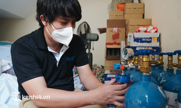"""""""Cha đẻ"""" ATM gạo cho ra đời ATM Oxy và câu chuyện bình oxy cứu sống một người cha ở Sài Gòn trong đêm - Ảnh 2."""
