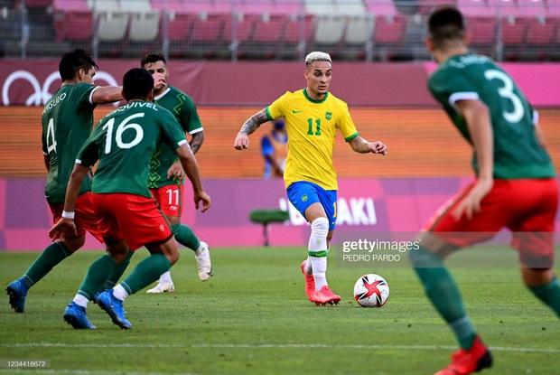 Hủy diệt Mexico trên chấm luân lưu cân não, Brazil vào chung kết Olympic 2020 - Ảnh 8.