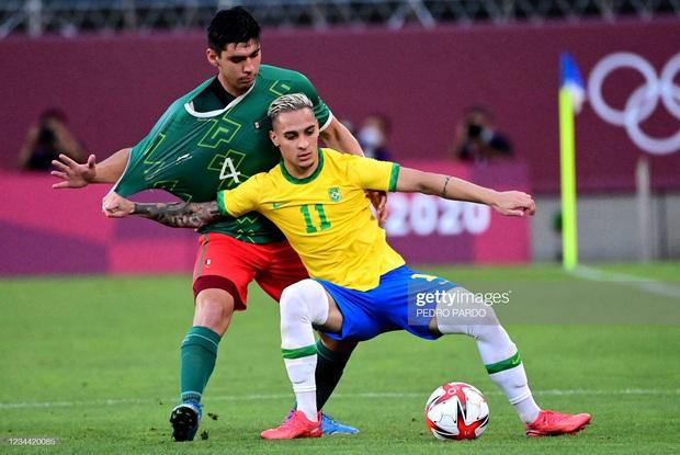 Hủy diệt Mexico trên chấm luân lưu cân não, Brazil vào chung kết Olympic 2020 - Ảnh 7.