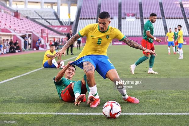Hủy diệt Mexico trên chấm luân lưu cân não, Brazil vào chung kết Olympic 2020 - Ảnh 14.