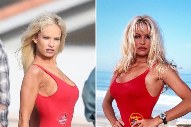 Lọ Lem Lily James xinh đẹp giờ tiêm filler, bơm ngực giả hóa thành cựu siêu mẫu Playboy gây ngỡ ngàng, bị chỉ trích thậm tệ - Ảnh 3.