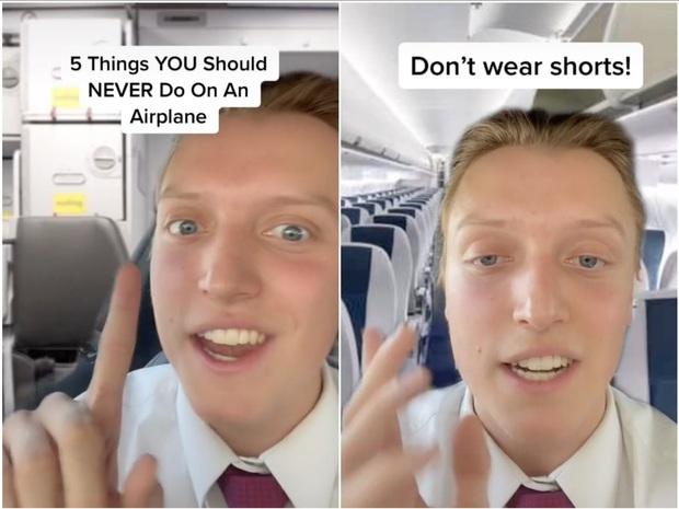 Đừng nên mặc quần shorts khi lên máy bay bởi lời giải thích này sẽ khiến bạn thấy ớn - Ảnh 1.