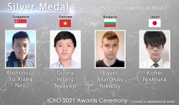 Học sinh Việt Nam thắng lớn tại Olympic Hóa học quốc tế - Ảnh 2.