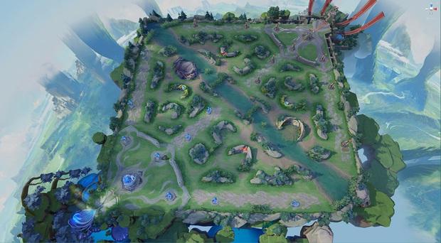 HOT: Toàn cảnh bản đồ mới Chiến trường 4.0 đẹp mê ly của Liên Quân, sắc nét đến từng chi tiết - Ảnh 1.