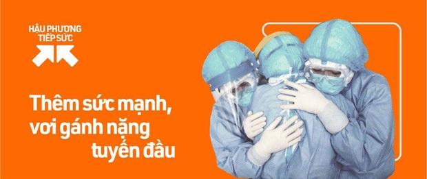 Sân khấu comeback của Tóc Tiên sau mấy tháng thất nghiệp là ở bệnh viện điều trị Covid-19, lâu không hát còn sợ quên lời - Ảnh 14.