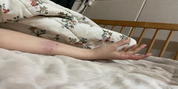 Trêu đùa mèo cưng quá đà, nữ streamer bị boss tấn công tới mức phải nhập viện - Ảnh 2.
