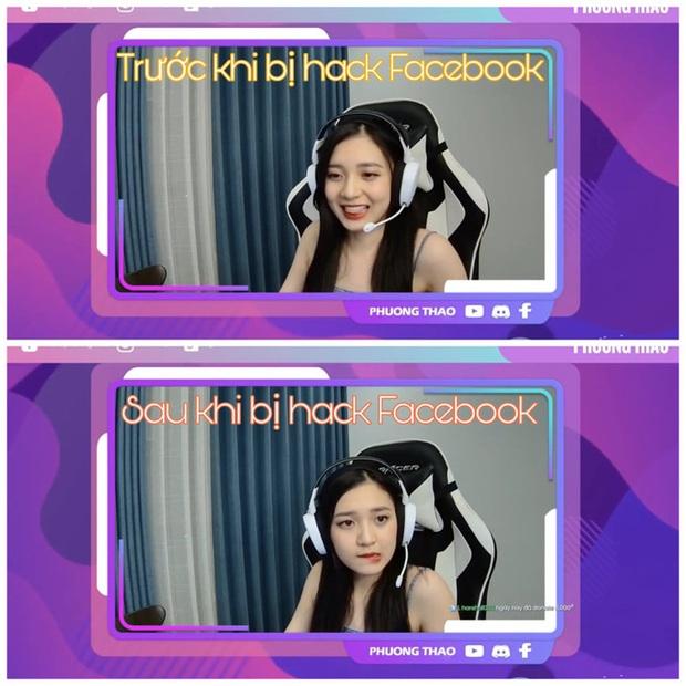 Kẻ xấu ngang nhiên hack tài khoản Facebook của MC Phương Thảo ngay trên sóng livestream - Ảnh 4.