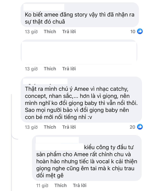 Chính tay khoe giọng hát 8 năm về trước không nghẹt mũi, netizen tự hỏi AMEE có hối tiếc hay không? - Ảnh 4.