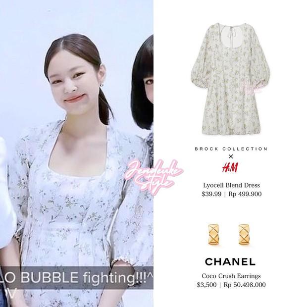 Jennie diện váy tay bồng cực cute mà vẫn sang chảnh, thích nhất là có nhiều mẫu rẻ chỉ bằng 1/3 mà xinh không kém cho chị em đây - Ảnh 3.