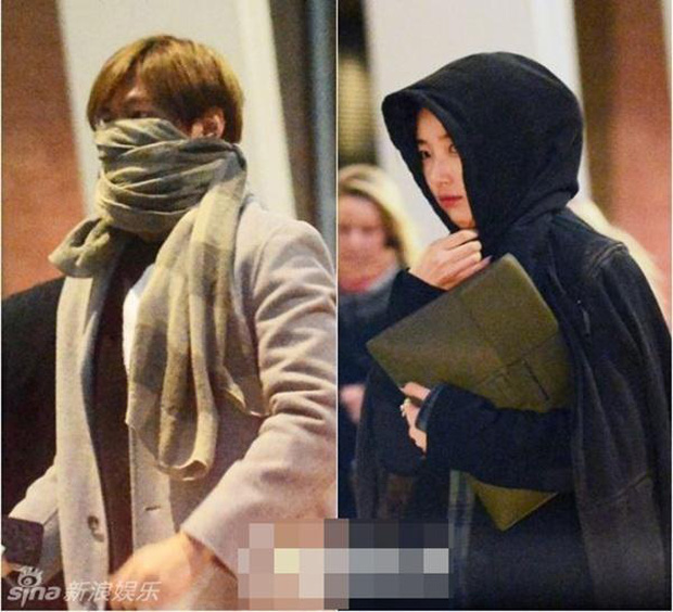 Ngắm lại giao diện Lee Min Ho những lần bị tóm sống đi hẹn hò: Che mặt kín bưng vẫn đẹp lồng lộng, áo trắng - quần đen cũng đủ gây rụng trứng - Ảnh 6.