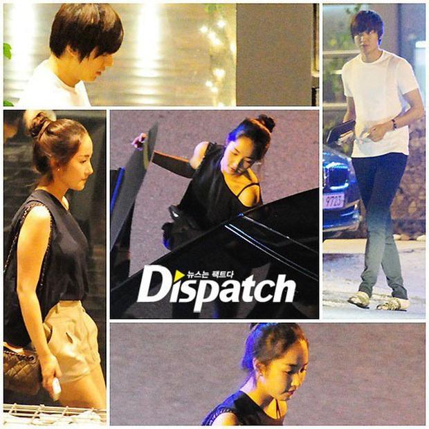 Ngắm lại giao diện Lee Min Ho những lần bị tóm sống đi hẹn hò: Che mặt kín bưng vẫn đẹp lồng lộng, áo trắng - quần đen cũng đủ gây rụng trứng - Ảnh 2.