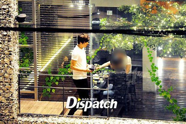 Ngắm lại giao diện Lee Min Ho những lần bị tóm sống đi hẹn hò: Che mặt kín bưng vẫn đẹp lồng lộng, áo trắng - quần đen cũng đủ gây rụng trứng - Ảnh 3.