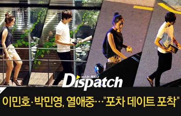 Ngắm lại giao diện Lee Min Ho những lần bị tóm sống đi hẹn hò: Che mặt kín bưng vẫn đẹp lồng lộng, áo trắng - quần đen cũng đủ gây rụng trứng - Ảnh 1.