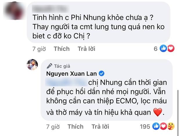 Thông tin mới nhất về tình hình sức khoẻ của ca sĩ Phi Nhung sau 4 ngày chuyển viện điều trị Covid-19 - Ảnh 2.