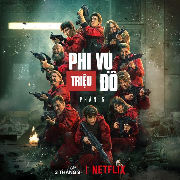 Money Heist 5 bùng nổ số điểm cao ngất, netizen Việt nức nở: Hồi hộp và xuất sắc tới căng não, phút cuối bi kịch khóc hết nước mắt! - Ảnh 1.