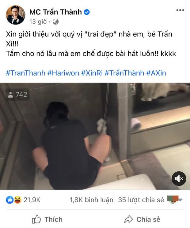 Động thái của Trấn Thành giữa lúc bị netizen tổng tấn công vì ai đó gọi tên, yêu cầu sao kê tiền quyên góp từ thiện - Ảnh 2.