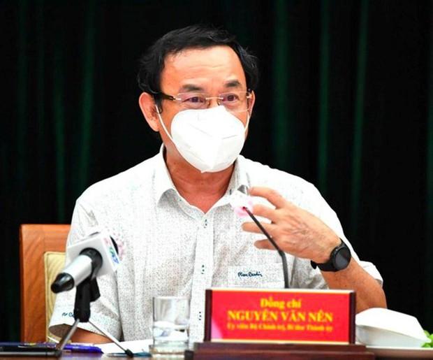 Bí thư TP.HCM Nguyễn Văn Nên: Không thể thực hiện Chỉ thị 16 mãi được… - Ảnh 1.