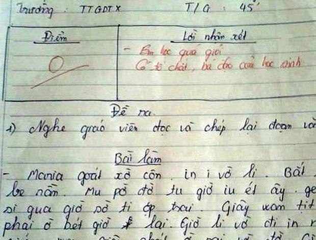 Giáo viên trừ thẳng tay 0 điểm dù khen ngợi nam sinh học quá giỏi, đọc lý do mà chỉ biết nể phục cô - Ảnh 1.