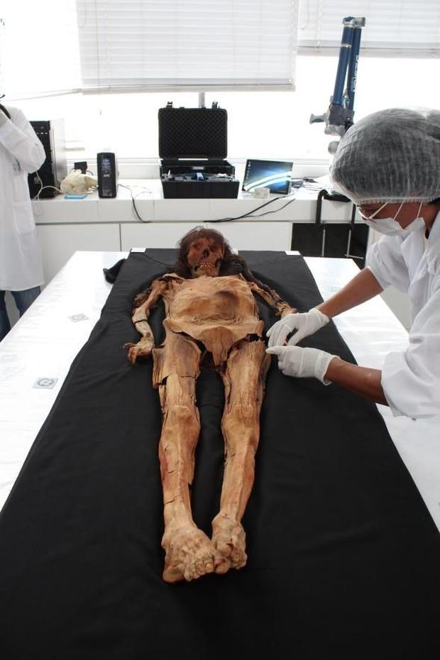 Tái hiện khuôn mặt quý bà từ xác ướp như quái vật, các nhà khoa học ngỡ ngàng nhan sắc người phụ nữ sống cách đây 1.600 năm - Ảnh 1.