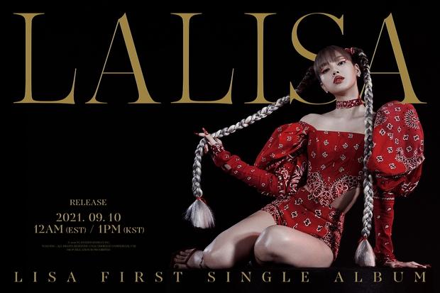 Album của Lisa đạt 700 nghìn bản đặt trước sau 4 ngày, phá kỷ lục của Rosé và chuẩn bị cho BLACKPINK ngửi khói - Ảnh 1.