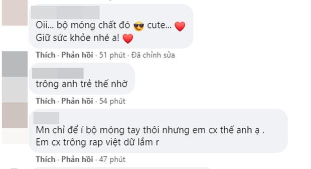 Wowy khoe ảnh hiếm cùng Karik troll Suboi, tiếc nuối Rap Việt mùa 2 bị hoãn sóng nhưng spotlight thuộc về bộ móng rất cồng kềnh - Ảnh 3.