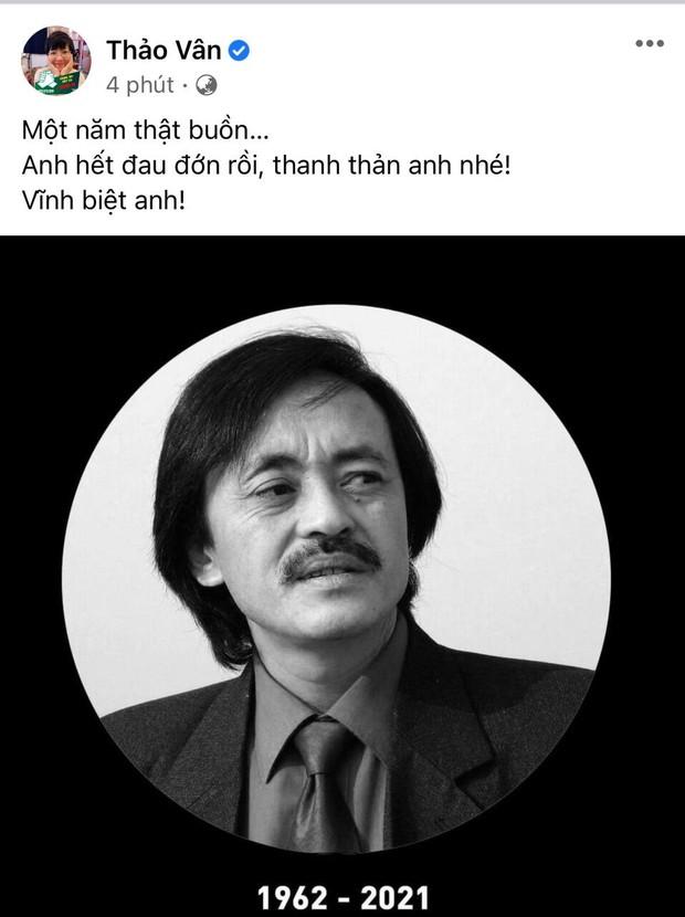 Trà My, Minh Tiệp và dàn sao Việt bàng hoàng nghe tin NS Giang Còi qua đời: Vĩnh biệt anh, mãi mãi 1 tuổi thơ! - Ảnh 5.