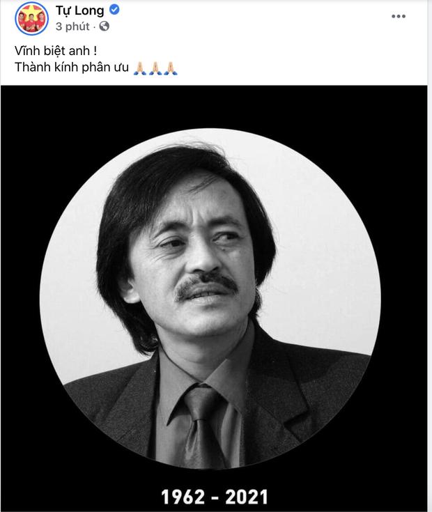 Trà My, Minh Tiệp và dàn sao Việt bàng hoàng nghe tin NS Giang Còi qua đời: Vĩnh biệt anh, mãi mãi 1 tuổi thơ! - Ảnh 8.