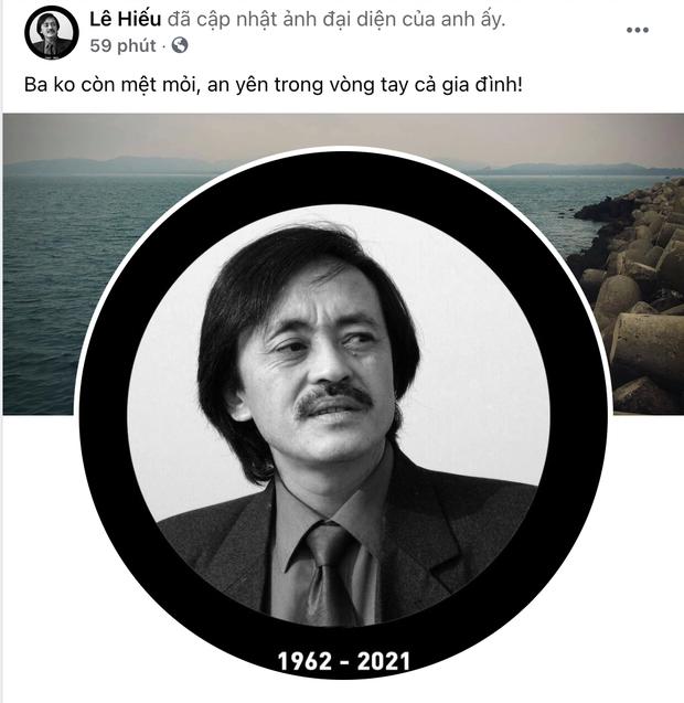 Con trai NS Giang Còi chia sẻ giữa mất mát: Ba không còn mệt mỏi... - Ảnh 1.