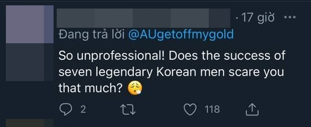 Fan BTS tràn vào Twitter của Phó Tổng biên tập Billboard vì khinh thường #1 của idol: Hẹn gặp ông cả trong cơn ác mộng - Ảnh 7.
