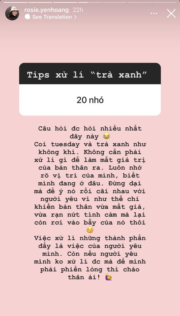 Tiểu thư kín tiếng hội rich kid Việt tiết lộ tips xử lý khi gặp phải trà xanh và Tuesday - Ảnh 2.