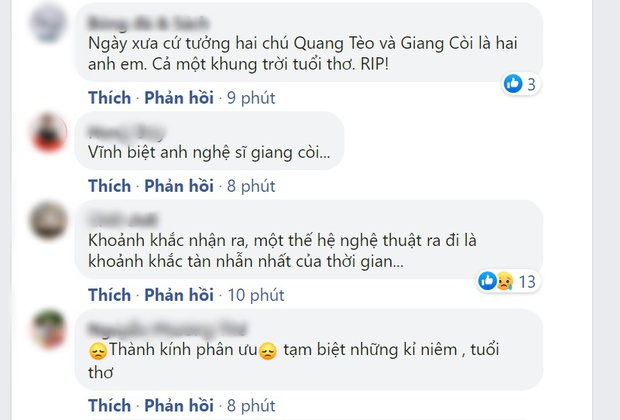 Netizen nhói lòng trước tin nghệ sĩ Giang Còi qua đời: Chào chú, một bầu trời tuổi thơ! - Ảnh 2.