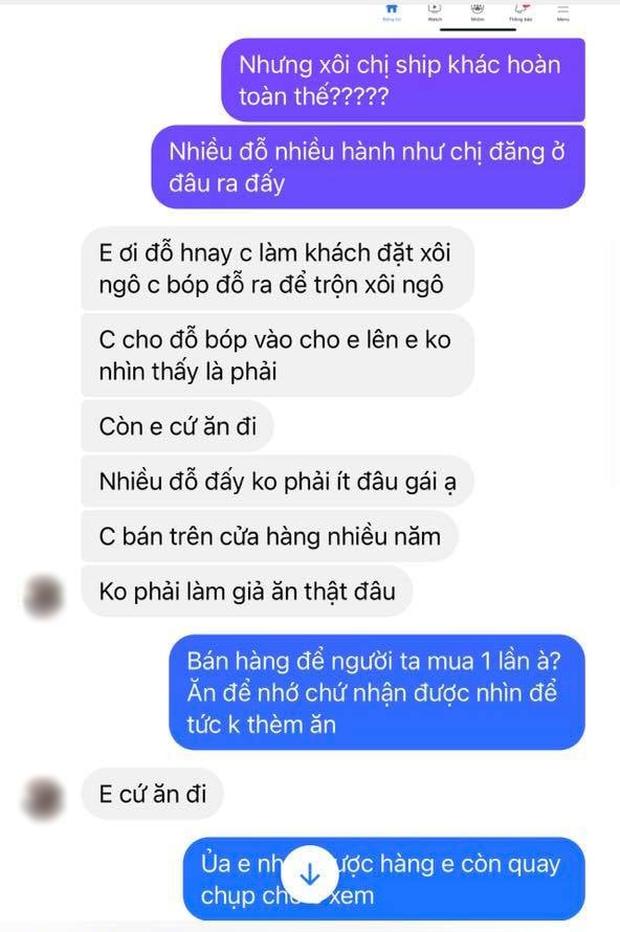 """Màn """"bóc phốt"""" order đồ ăn mùa dịch ở Hà Nội khiến dân mạng tức nghẹn họng hôm qua, người bán và khách đều chẳng vừa! - Ảnh 5."""