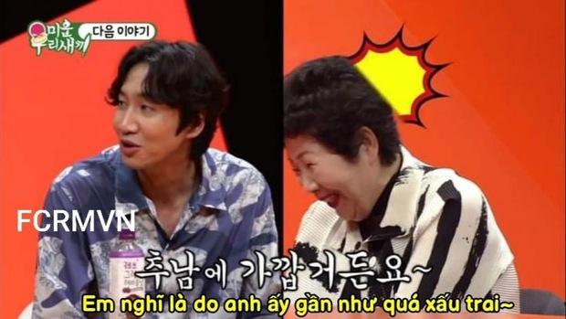 Lee Kwang Soo thẳng thừng chê Kim Jong Kook xấu trai nên khó kết hôn trước mặt mẹ chàng Hổ? - Ảnh 3.