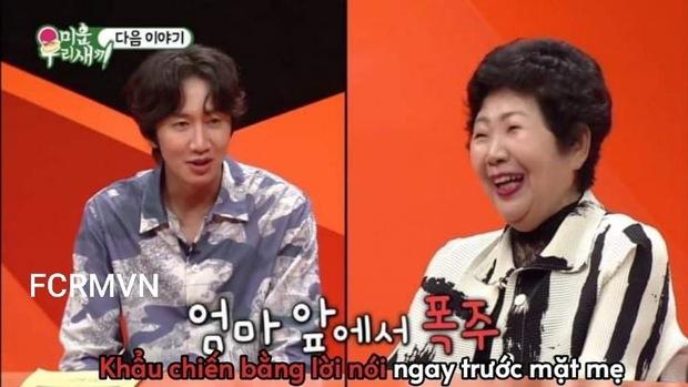 Lee Kwang Soo thẳng thừng chê Kim Jong Kook xấu trai nên khó kết hôn trước mặt mẹ chàng Hổ? - Ảnh 5.