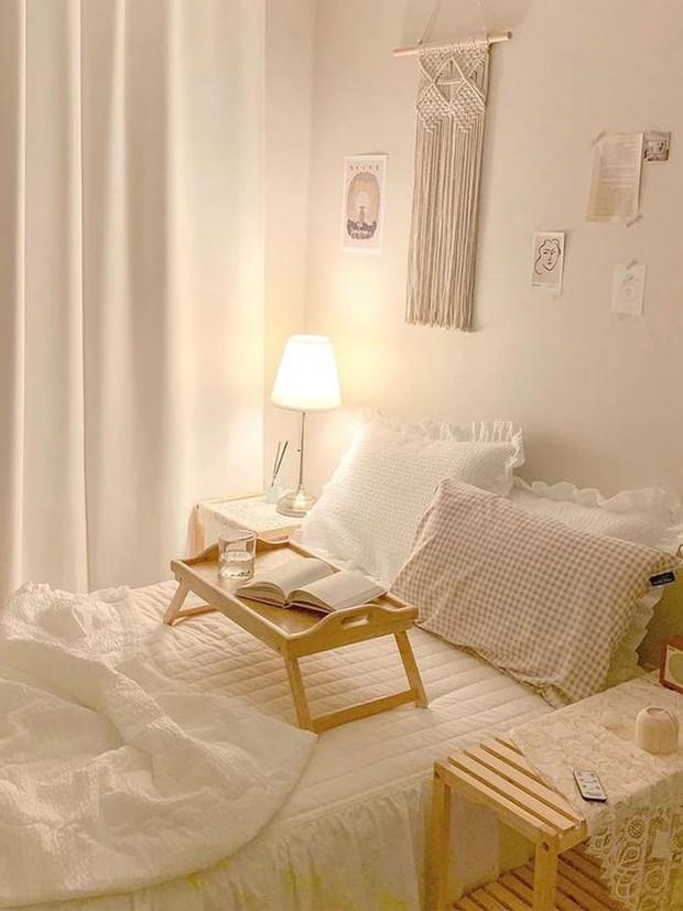 Làm tổ trên giường cả ngày mà không biết 7 cách nâng mood phòng ngủ thì khó mà thư giãn - Ảnh 9.
