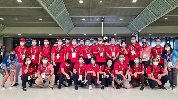 Đoàn Thể thao Việt Namvề nước sau hành trình tại Olympic Tokyo 2020 - Ảnh 1.