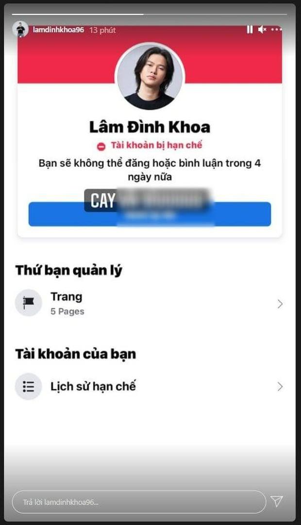 Rambo Cao Lãnh bị Facebook sờ gáy, cấm đăng và bình luận, Linh Ngọc Đàm cười như được mùa? - Ảnh 2.