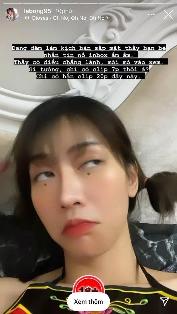 Cõi mạng náo loạn vì Lê Bống bị đồn lộ clip nóng, phản ứng của gái xinh khiến netizen không khỏi bất ngờ - Ảnh 5.