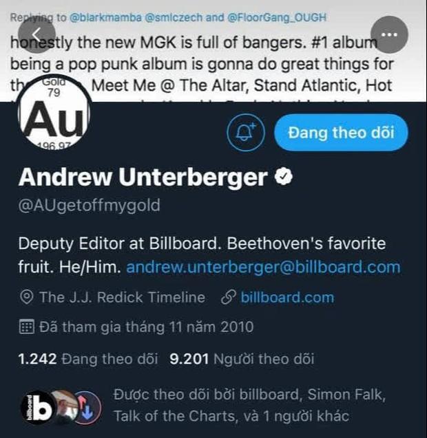 Fan BTS tràn vào Twitter của Phó Tổng biên tập Billboard vì khinh thường #1 của idol: Hẹn gặp ông cả trong cơn ác mộng - Ảnh 4.