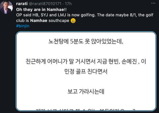 Cuộc hẹn hò không ai ngờ: Son Ye Jin đưa Hyun Bin đi chơi golf với... tình địch của Song Hye Kyo - Ảnh 2.