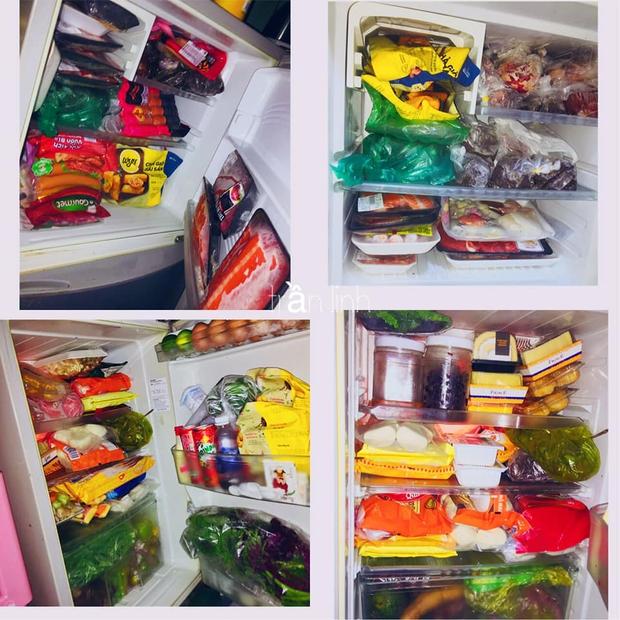Cô gái khoe chiếc tủ lạnh đúng chuẩn đại gia mùa dịch: Giá sương sương gần 50 củ, đồ ăn chất đầy như cái chợ! - Ảnh 5.